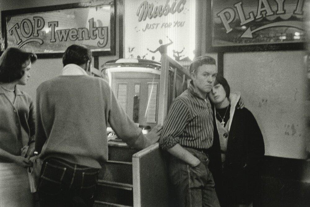Брюс Девідсон, «Тінейджери та джукбокс», 1960