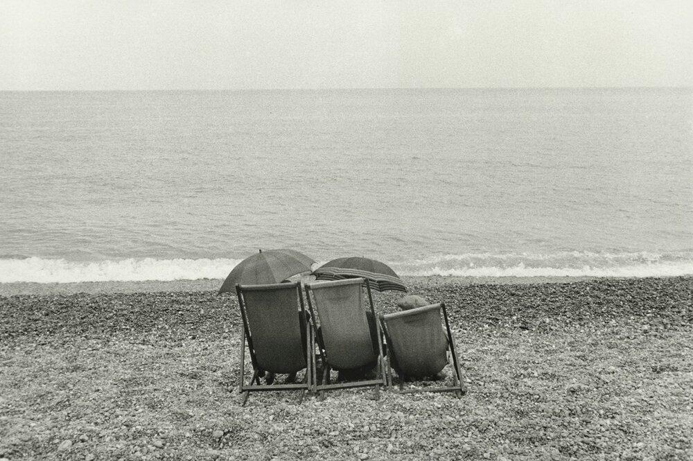 Брюс Девідсон, «Пара на пляжі», 1960