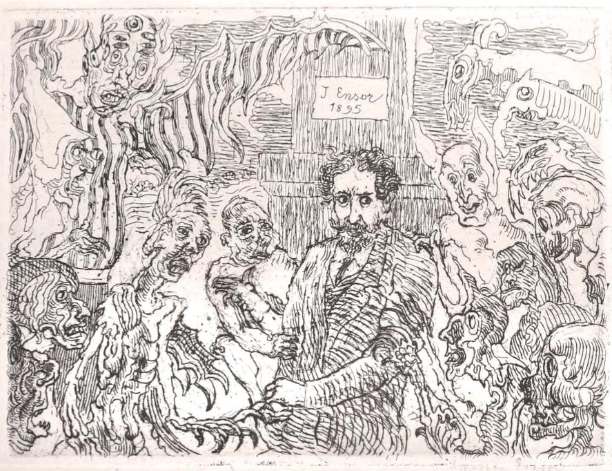 Джеймс Енсор, Démons me turlupinant, 1895