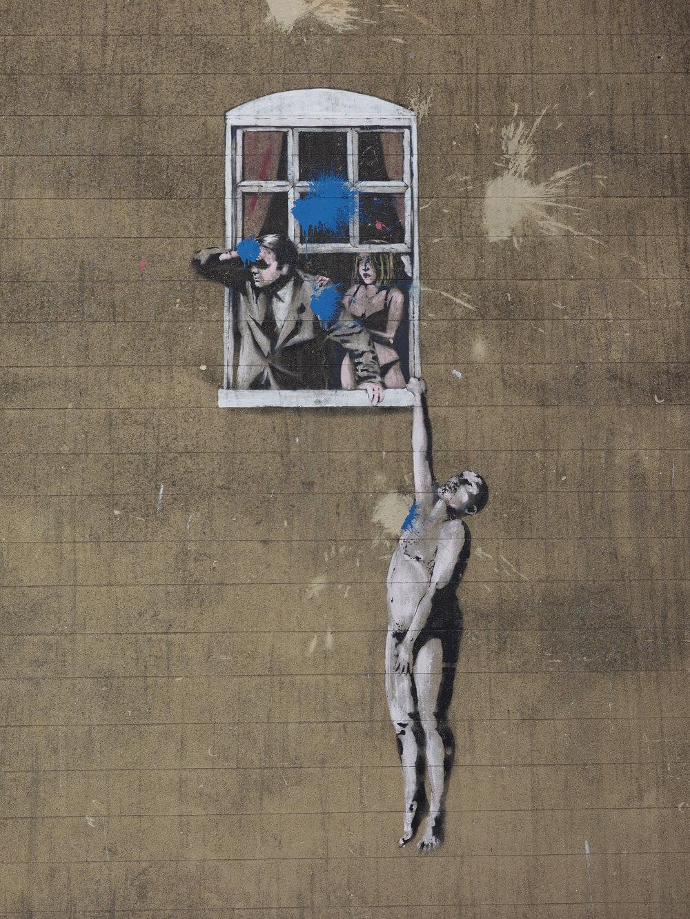 Banksy, «Коханець»