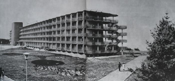 Готель «Турист» у Черкасах, 1967. Світлина:  wikimapia
