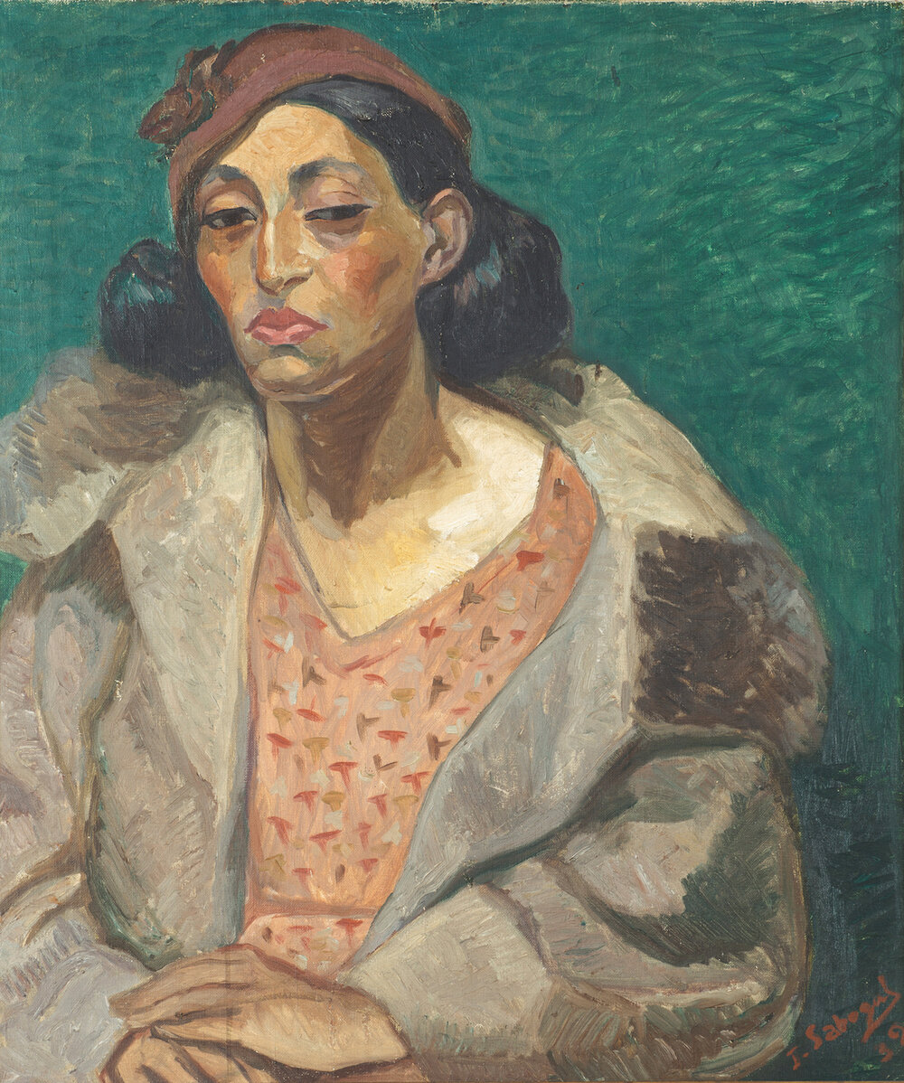 Хосе Сабогал, Estela Bocángel Montesinos, 1932. Світлина: blantonmuseum