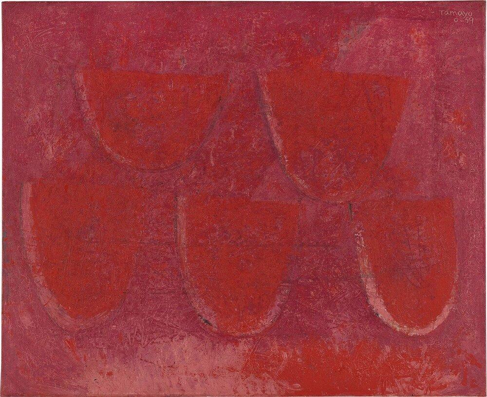 Руфіно Тамайо, Cinco Rebandas de Sandía, 1959. Світлина:  phillips