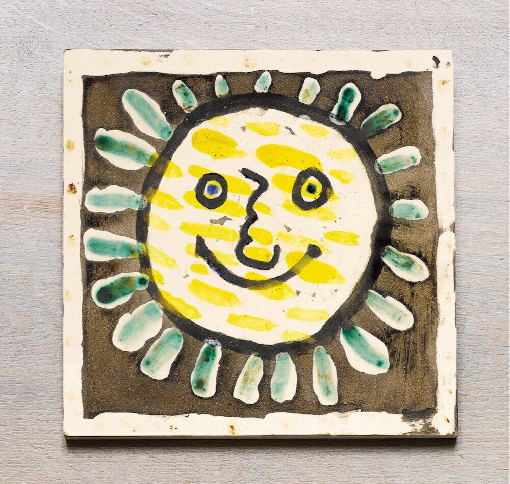 Пабло Пікассо, Visage soleil, 1956