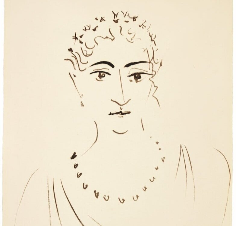 Пабло Пікассо, Femme au collier, 1923