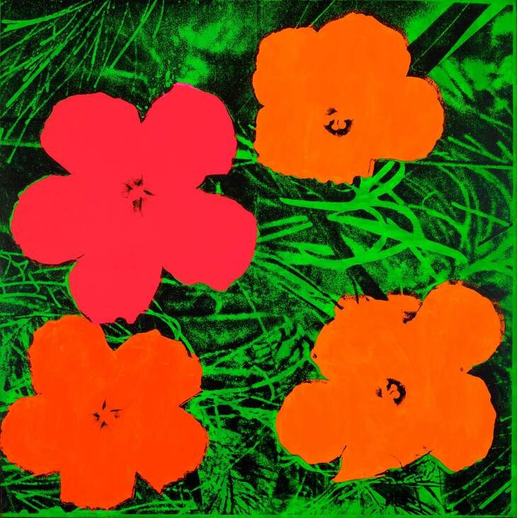 Flowers, 1964. © 2019 The Andy Warhol Foundation for the Visual Arts, Inc / Artists Right Society (ARS), New York and DACS, London