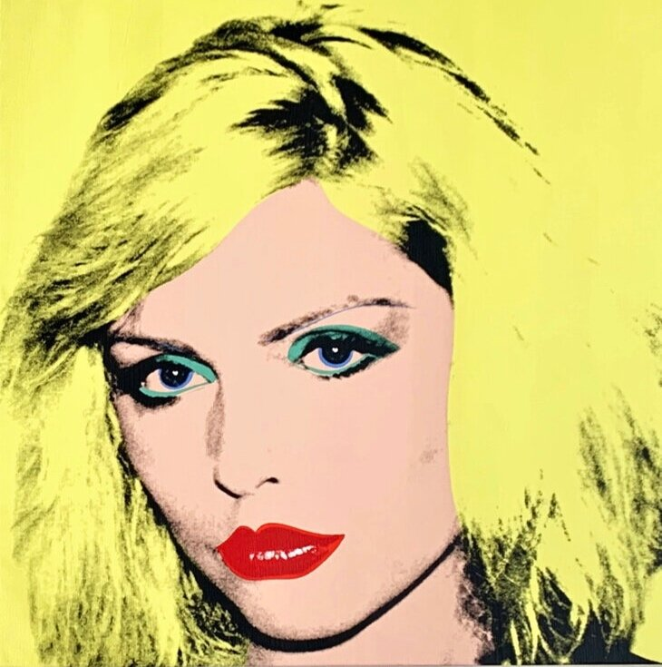 Debbie Harry, 1980. © 2019 The Andy Warhol Foundation for the Visual Arts, Inc / Artists Right Society (ARS), New York and DACS, London
