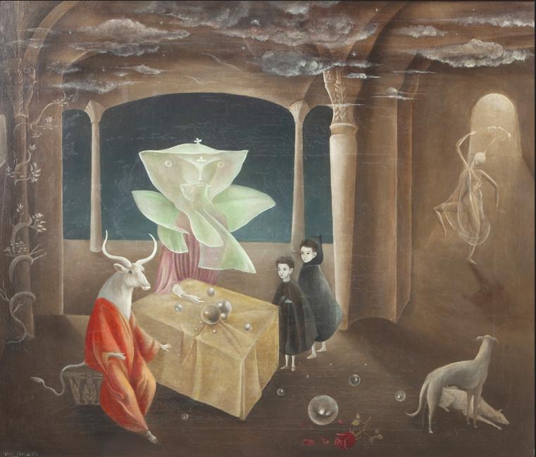 Леонора Керрінґтон, And Then We Saw the Daughter of the Minotaur, 1953