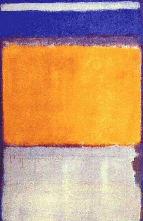 № 10, 1950, Марк Ротко. Світлина: pyag.gallery