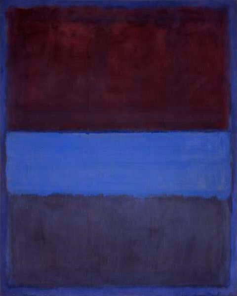 Марк Ротко, № 61, 1953. Світлина:  artchive