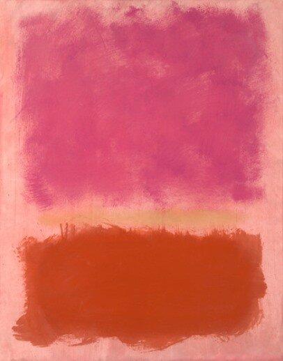 Марк Ротко, Untitled, 1958. Світлина:  artchive
