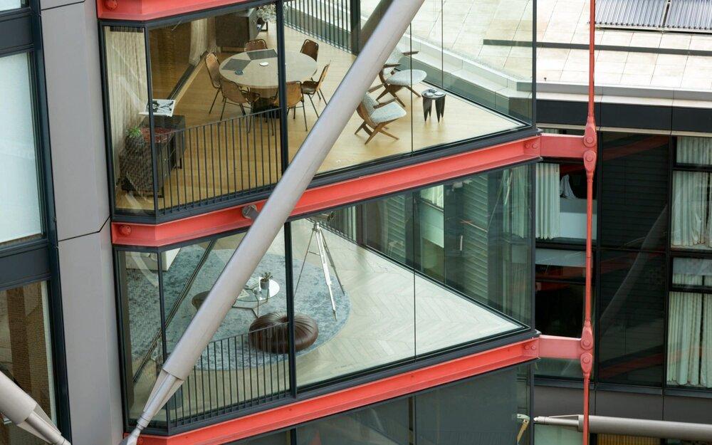 Вид на квартири з оглядового майданчика. Світлина:: ALEX SEGRE/ALAMY