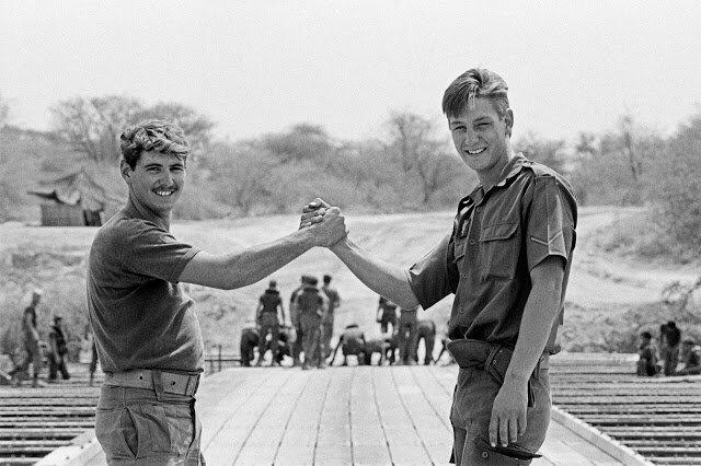 Ветерани SADF, 30 серпня, 1988. Світлина:  notmywarproject