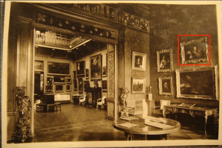 Зала французького мистецтва у експозиції Музею Ханенків, 1940 рік. Світлина надана музеєм