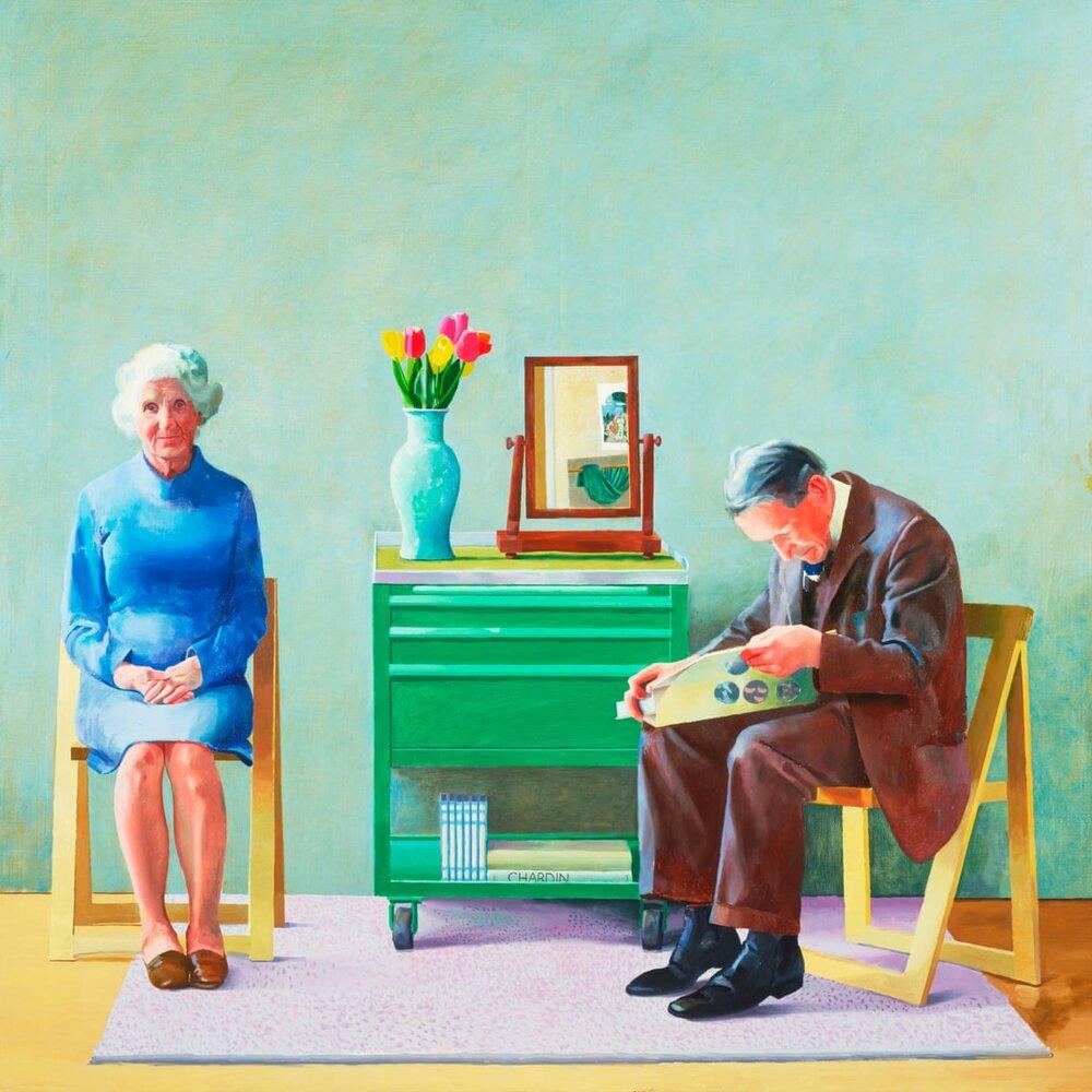 My Parents, 1977. Світлина: David Hockney/Tate London