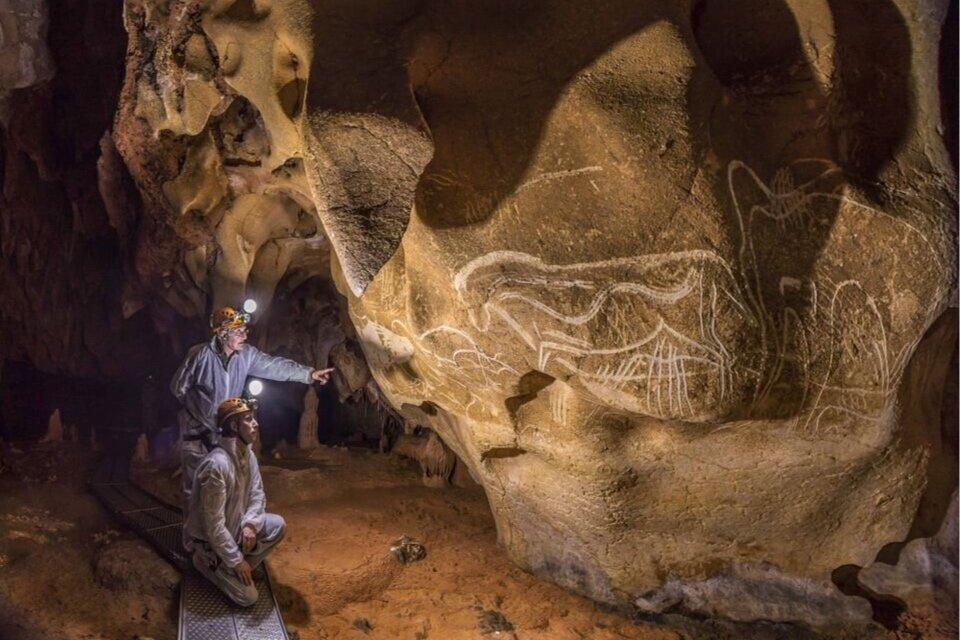 Світлина: Stéphane Compoint/Syndicat Mixte de l'Espace de Restitution de la Grotte Chauvet