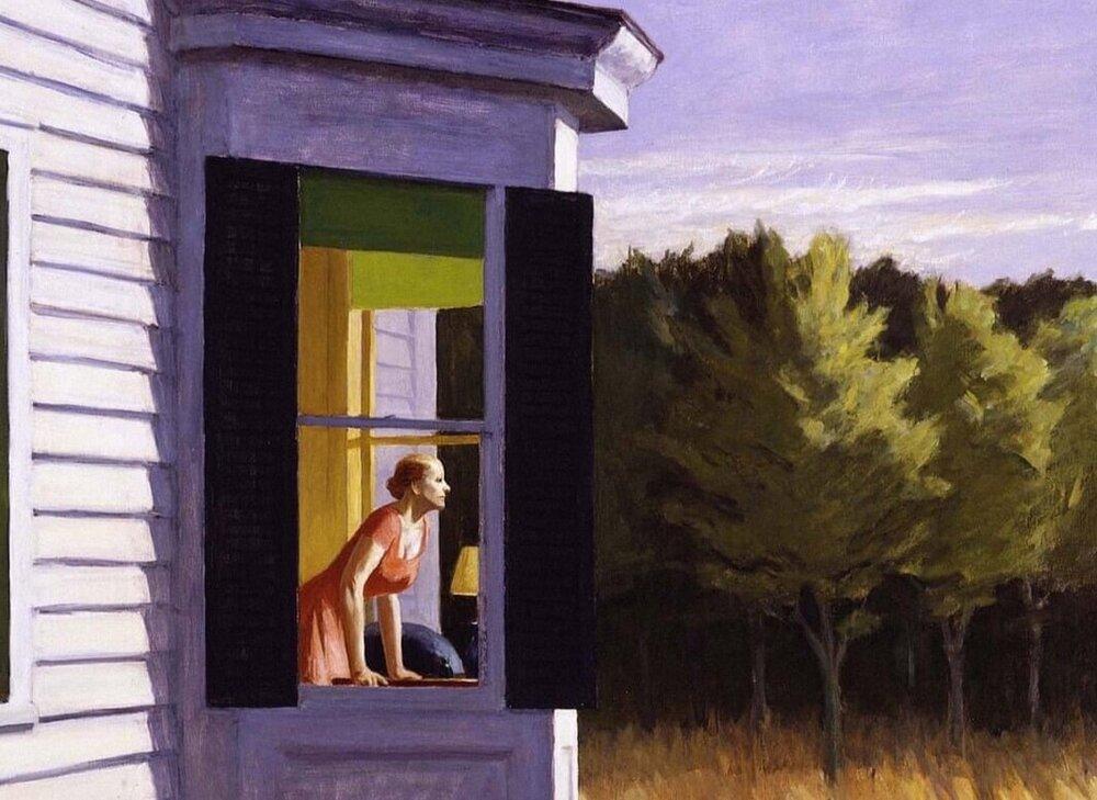 Morning Sun, Едвард Хоппер, 1952. Світлина: Alamy