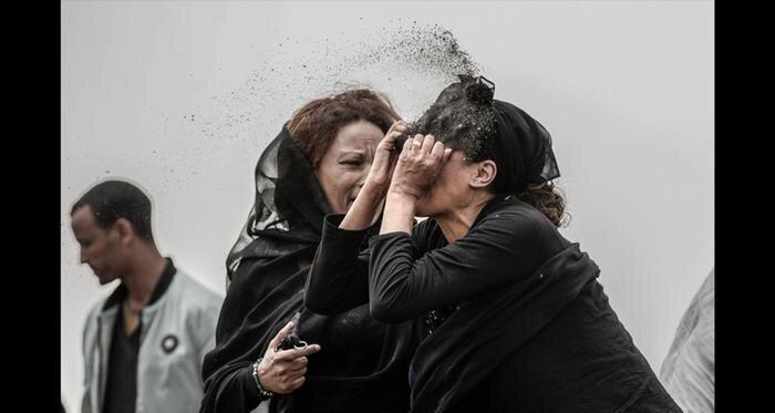 Траур жертв авіакатастрофи ET 302, Мулугета Айєне