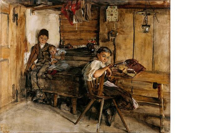 Клара фон Раппард, Дитяча кімната,