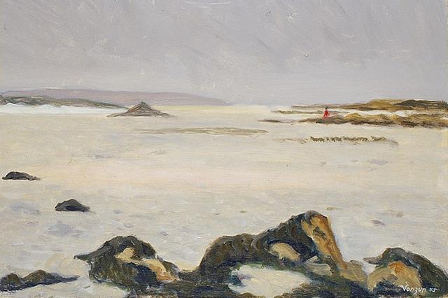 Анна Мейссер Вонзун, Відплив (Бретань), 1975