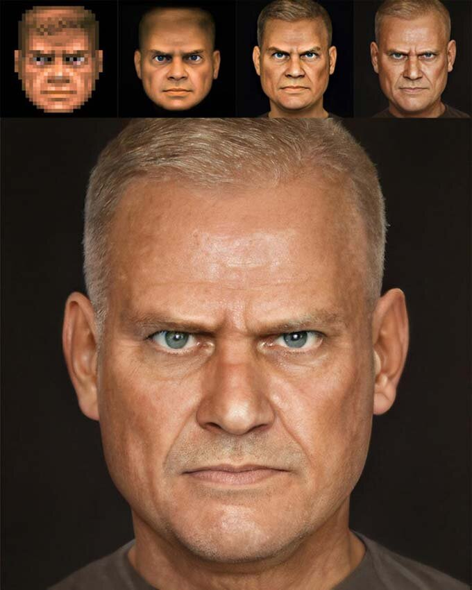 Персонаж з гри Doom