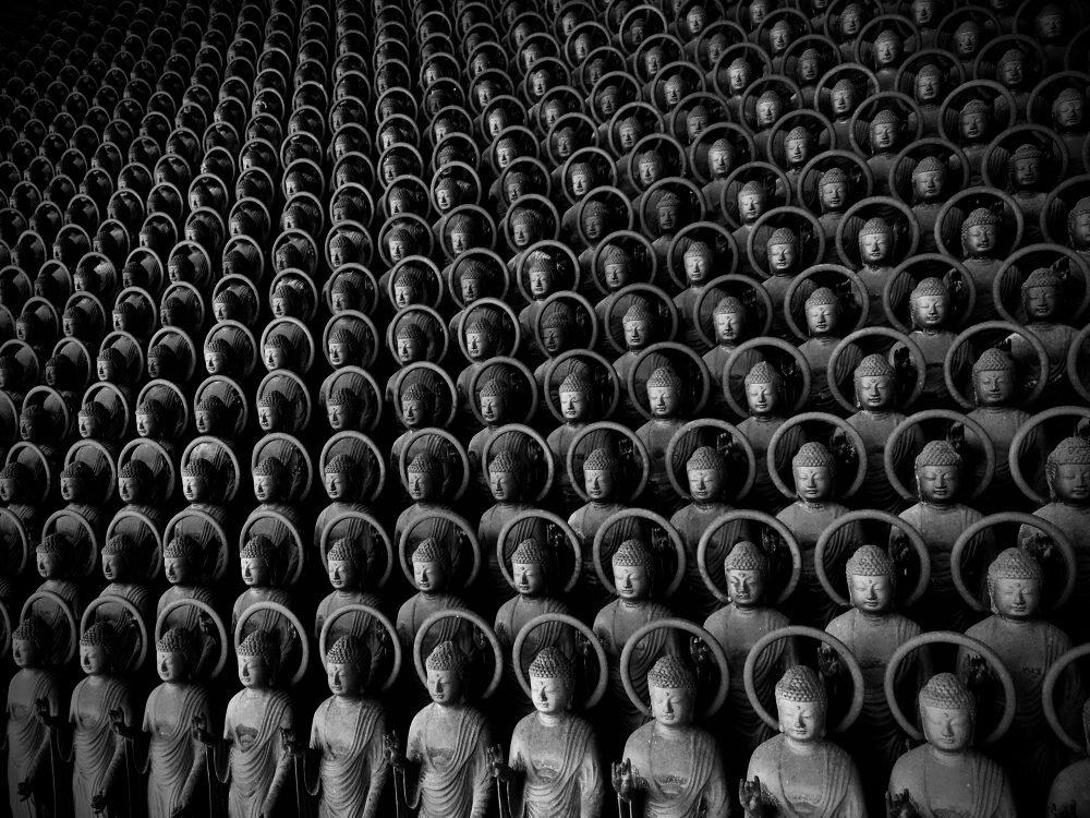 3 місце Still Life. Сінія Ітахана, 84 000 статуй Якусі Ніораї (2020). Сфотографовано на iPhone SE.