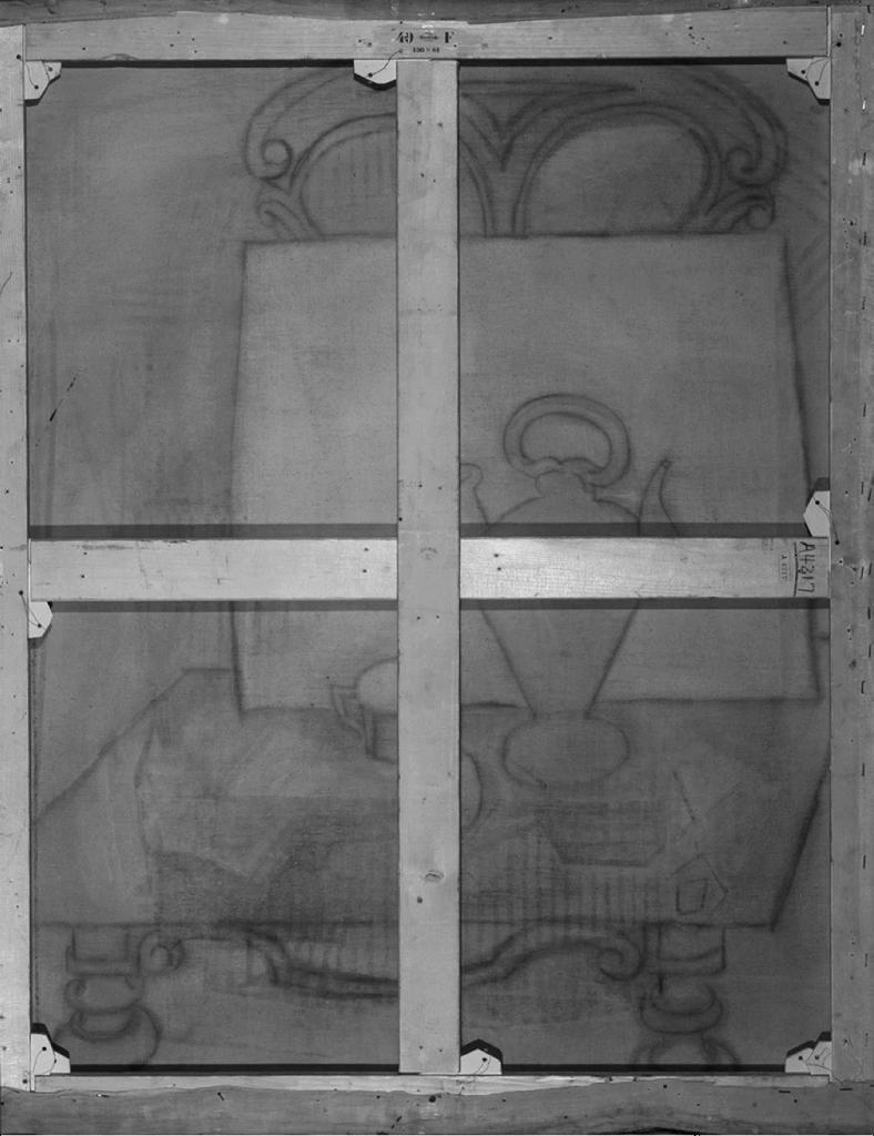 Контури виявленої роботи ©Art Institute of Chicago