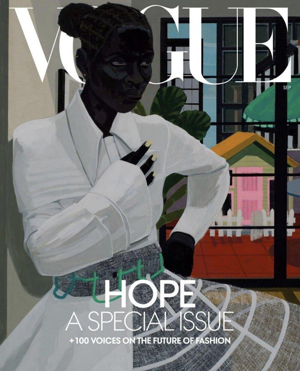 Kerry James Marshall/Vogue