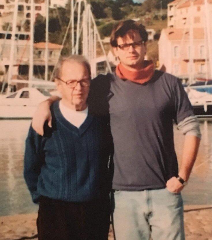 Джеймс Саломон з батьком