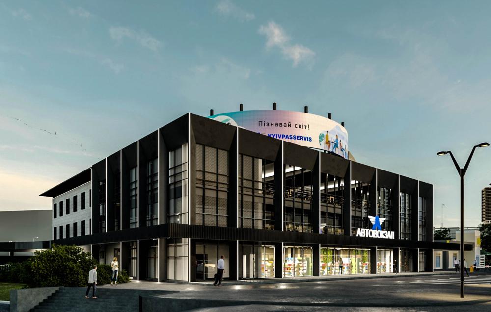 Як має виглядати будівля після модернізації. Фото:  cfts.org.ua