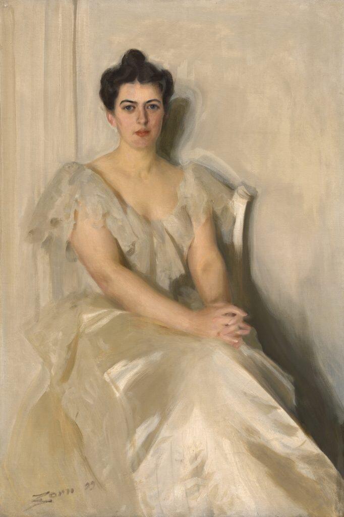 Андерс Цорн, «Френсіс Клівленд» ©National Portrait Gallery, Smithsonian Institution; gift of Frances Payne