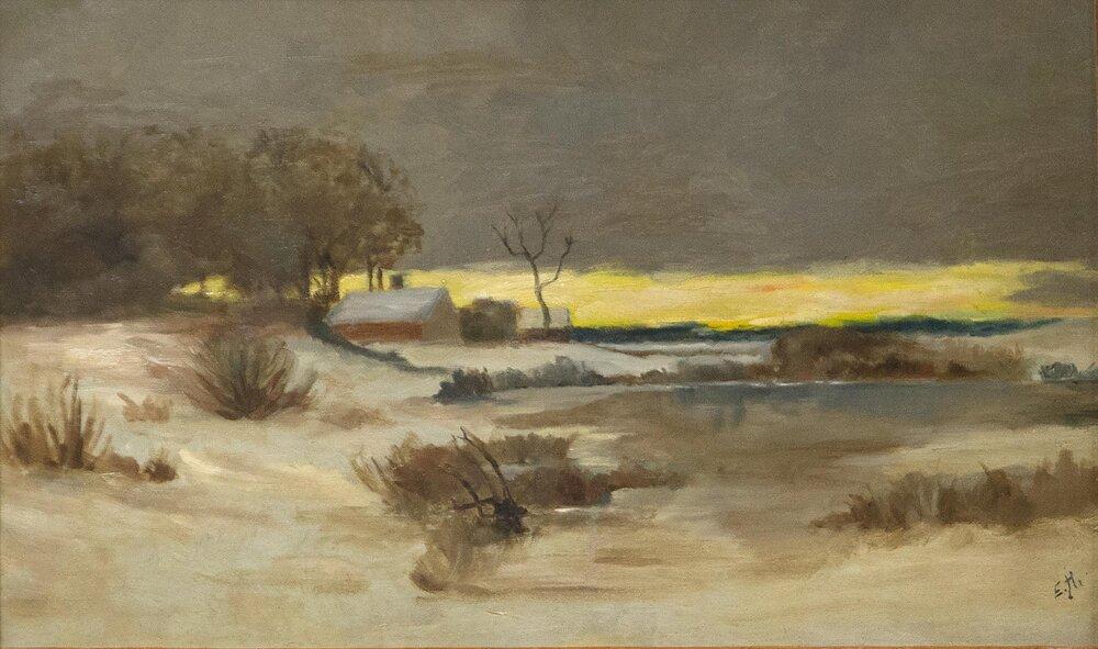 Едвард Гоппер, Old Ice Pond at Nyack © 1stdibs.co.uk