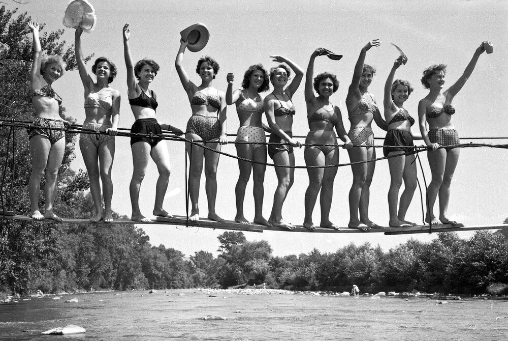 1969. Над рікою Латорицею (Закарпатська обл) © amnesia