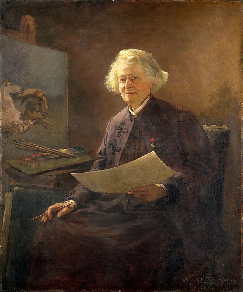 Анна Елізабет Клюмпке, Portrait of Rosa Bonheur ©Metropolitan Museum of Art