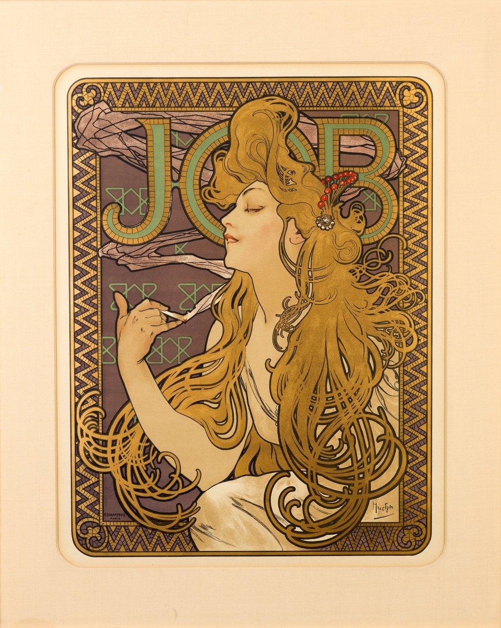 Альфонс Муха «Робота»,1896