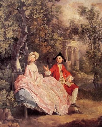 Томас Гейнсборо «Бесіда в парку»