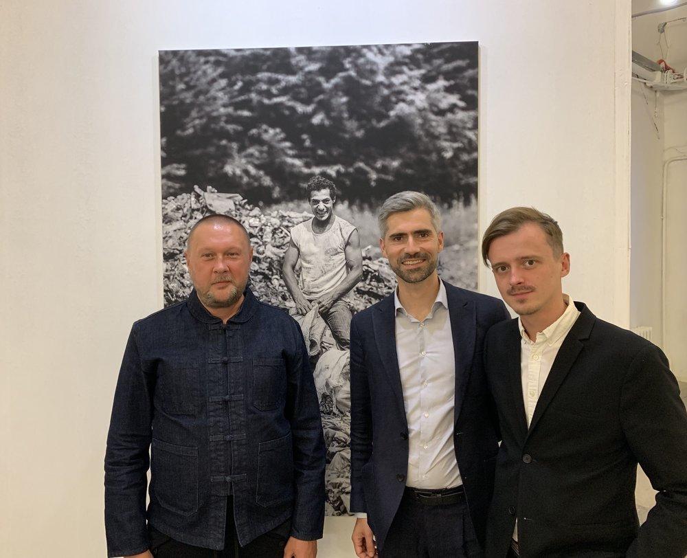 Константин Дорошенко, Якоб Рачек и Андрей Завалей