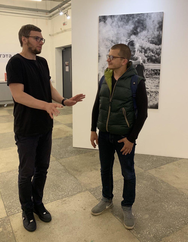 Алексей Зинченко и Илья Черепко-Самохвалов