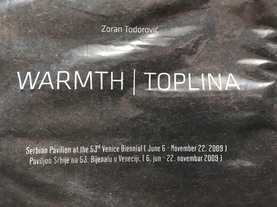 Зоран Тодорович(Zoran Todorovich, Белград, Сербія), «Теплота», об'єкт з контраверсійного проекту, що демонструвався в павільйоні Сербії на 53-й Венеційській бієнале 2009 року