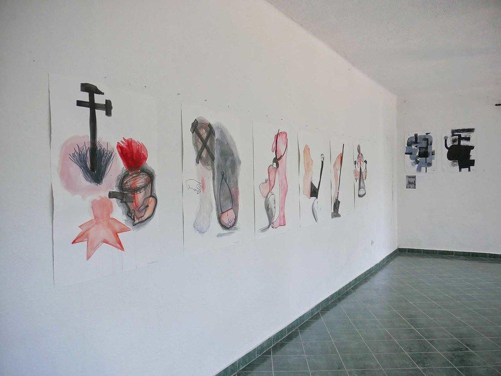 Експозиція в Краєзнавчому Музеї міста Морін (Morin, Чорногорія)