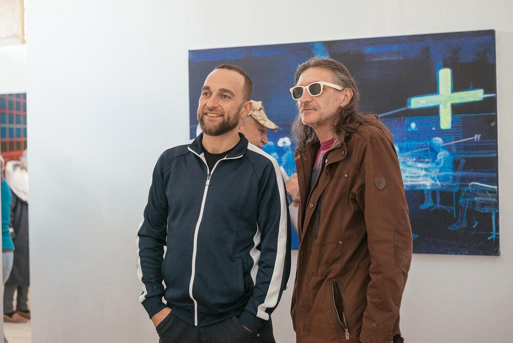 Володимир Гуліч (праворуч)