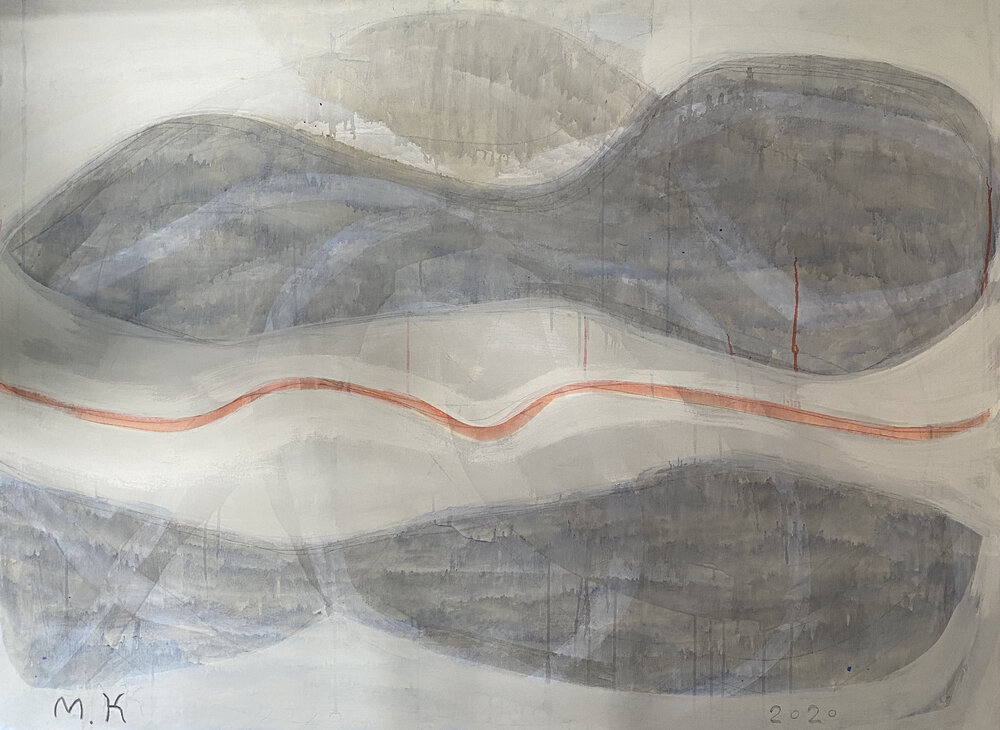 « ...в повітрі» , Микола Кривенко, 2020