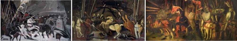 Штудії Матвія Вайсберга до триптиху Паоло Учелло «Битва при Сан-Романо», 2006–2016