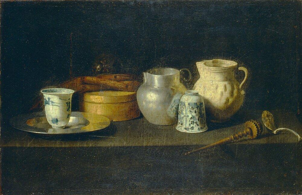 Хуан де Сурбаран (1620–1649), «Натюрморт зі збивачем для шоколаду». Фото: Музей Ханенків