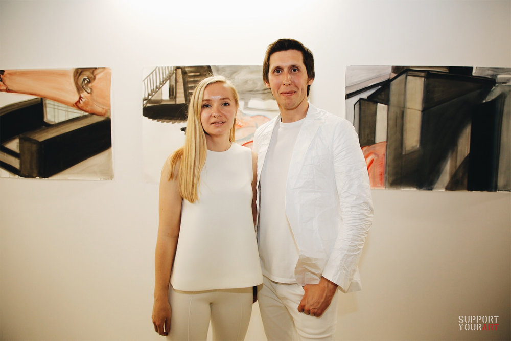 Юлія та Максим Волошини