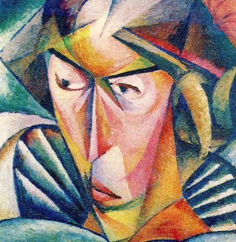 Портрет дружини Ванди (1914)