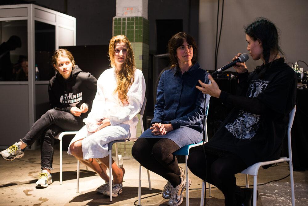 Ганна Циба, Варвара Гранкова, Катерина Мiщенко та Дiана Буркот