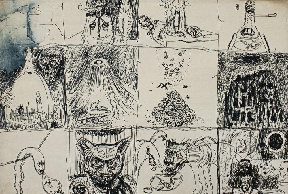 «Язик–лопата сам собі викопає яму», кінець 1980-х