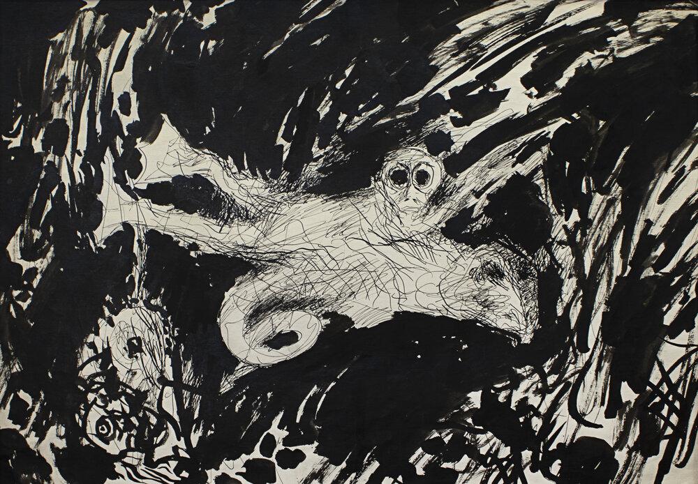 «Людина-риба», кінець 1980-х