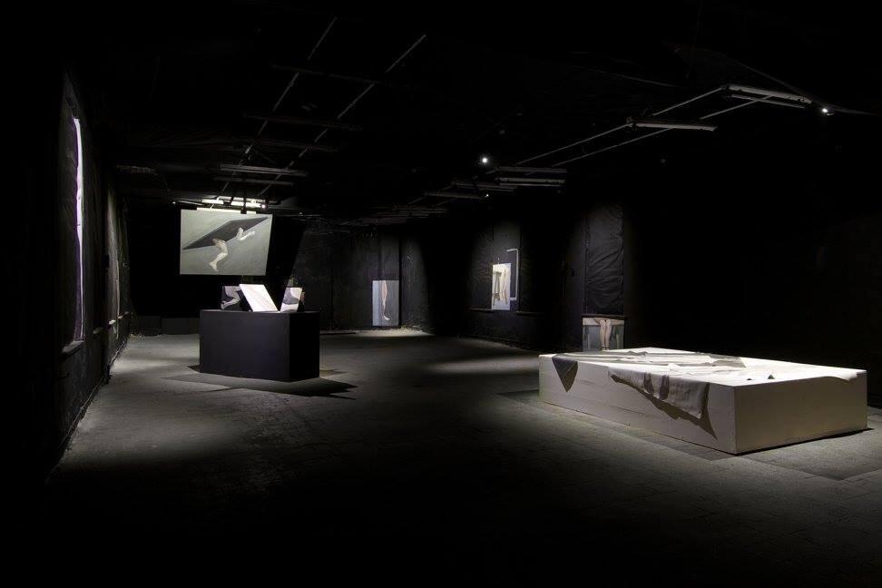 Выставка Леси Хоменко «Ступ». 2015. Closer. Фото: Макс Роботов